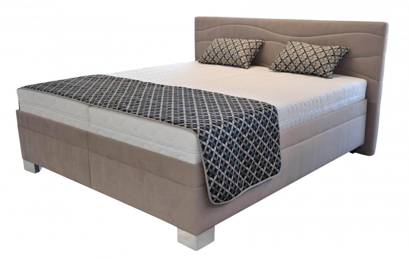Čalúnená posteľ Čalúnená posteľ Windsor 180x200 vrátane pol.roštu,úp,bez matracov