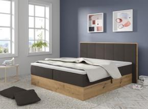 Čalúnená posteľ Carolina 180x200, tmavo sivá, vr. mat., top., ÚP