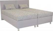 Čalúnená posteľ Colorado 180x200, ružová, vrátane matracov a úp