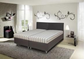 Čalúnená posteľ Colorado 180x200, vrátane matracov, roštu a úp