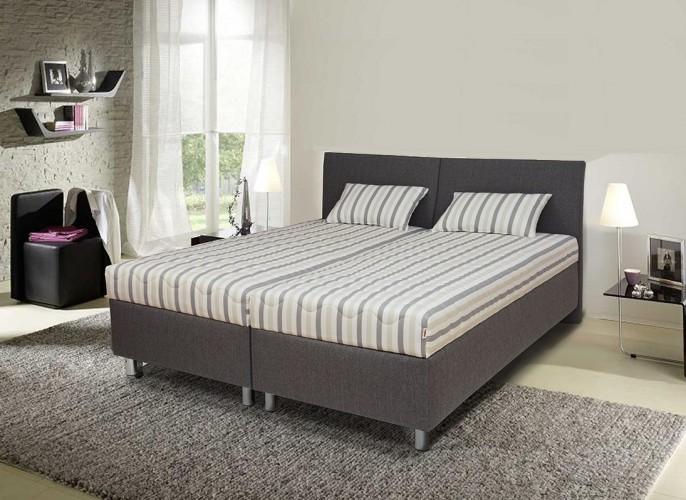 Čalúnená posteľ Colorado 180x200, vrátane matracov, roštu a úp.