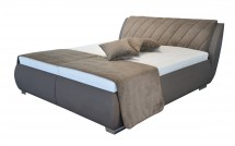Čalúnená posteľ Grosseto 180x200 vrátane matracov,pol.roštu a úp