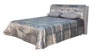 Čalúnená posteľ King 160x200,vrátane pol.roštu a úp,bez matracov