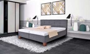 Čalúnená posteľ Mary 180x200, vr. matraca, pol.roštu a úp