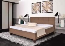 Čalúnená posteľ Mary 180x200, vr. matraca, pol. roštu a ÚP