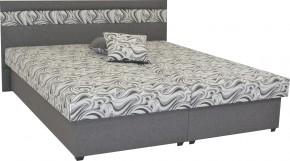 Čalúnená posteľ Mexico 160x200, šedá, vrátane úp