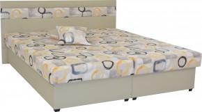 Čalúnená posteľ Mexico 180x200, béžová, vrátane úp + darček 2 vankúše