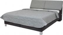 Čalúnená posteľ Perseus 160x200, vr. matraca, pol. roštu a úp