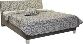 Čalúnená posteľ Sahara 160x200, vrátane roštu a úp, bez matracov