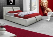 Čalúnená posteľ Santa Fe 180x200, vrátane roštu a úp