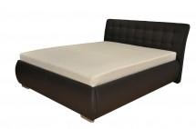 Čalúnená posteľ Tobago 180x200, vrátane roštu a úp, bez matraca