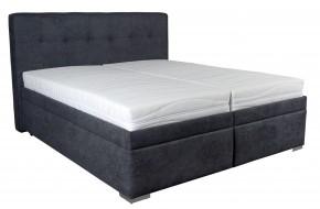 Čalúnená posteľ Trent 180x200, vrátane matracov, pol. roštu a úp + darček 2 vankúše