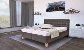 Čalúnená posteľ Victoria 160x200 vr. matraca, topperu a ÚP