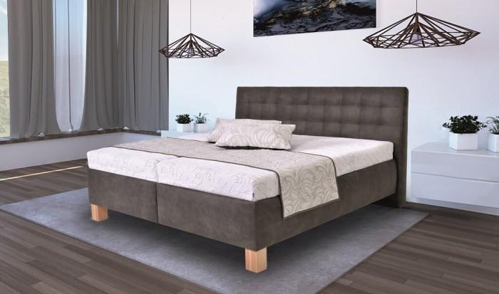 Čalúnená posteľ Victoria 180x200, - II. akosť