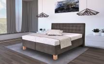 Čalúnená posteľ Victoria 180x200, vr. matraca, pol.roštu a úp