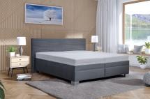 Čalúnená posteľ Windsor 200x200, vrátane matraca, pol. roštu, ÚP