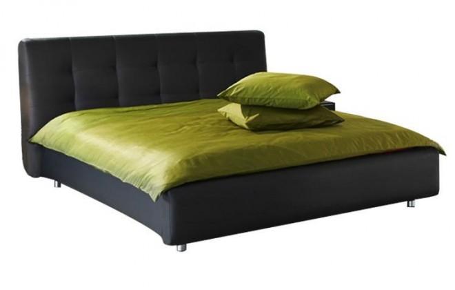 Čalúnená Queen - rám postele 200x180 (eko koža)
