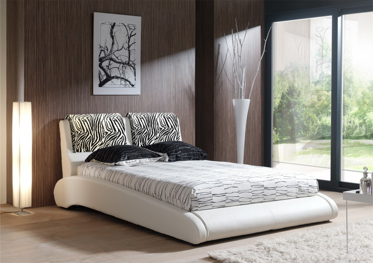 Čalúnená RITA ANIMAL (zebra - white, sk. I)