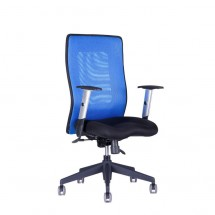 Calypso - Kancelárska stolička, GRAND BP (14A11 modrá)