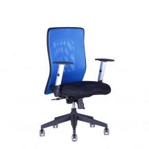 Calypso - Kancelárska stolička, XL BP (14A11 modrá)