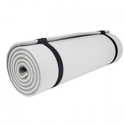 Camprest - Karimatka, 2 vrstvy, 180x50x1,2 cm (sivá, biela)