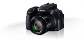 Canon PowerShot SX60 HS, 16.1Mpix, 65x zoom - černý