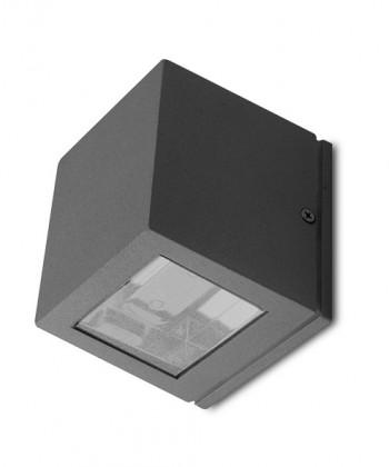 Canto - vonkajšie nástěnné svietidlo, 2LED, 6W (hliník)
