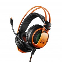 Canyon CND-SGHS5 hráčsky headset pre expertov, čierno-oranžová PO