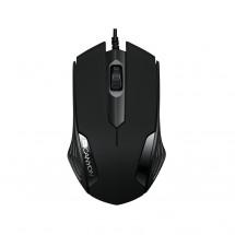 Canyon CNE-CMS02B, optická myš, USB, čierna,