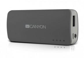 Canyon CNE-CPB44 Power Bank 4400mAh, sivá