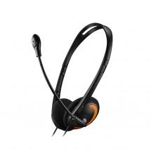 Canyon CNS-CHS01BO, PC Headset, čierno-oranžová