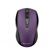 Canyon CNS-CMSW08B, optická myš Bluetooth/Wireless USB, fialová