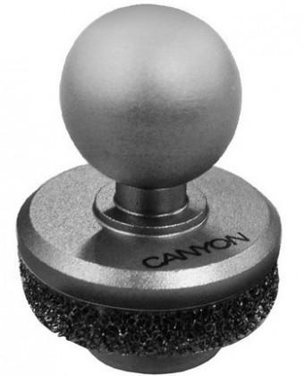 CANYON kovový mini Joystick pre smartphony, strieborný