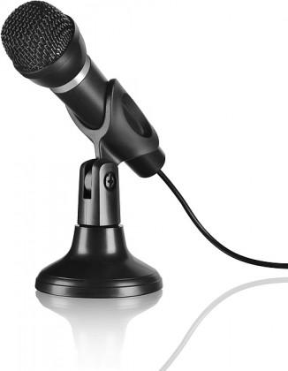 CAPO Desk & Hand Microphone, black ROZBALENÉ