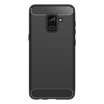 Carbon Samsung Galaxy A8 (2018)black