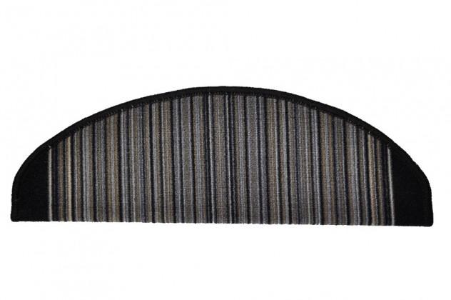 Carnaby - Schodový nášľap, 25x65 cm (sivý)