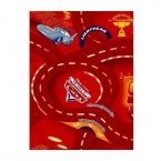 Cars červený - Koberec 140x200 cm