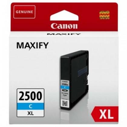 Cartridge Canon Atrament Canon PGI-2500XL C, azúrový