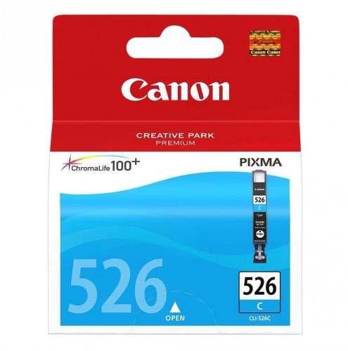 Cartridge Canon CLI-526 C, azúrová