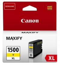 Cartridge Canon PGI-1500XL Y, 9195B001, žltá