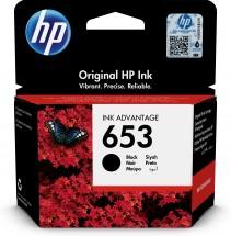 Cartridge HP 3YM75AE, 653, čierna