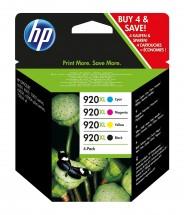 Cartridge HP C2N92AE, 920XL, štvorbalenie, CMYK
