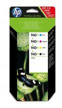 Cartridge HP C2N93AE, 940XL, štvorbalenie, CMYK