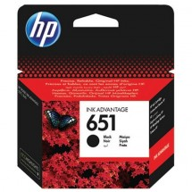 Cartridge HP C2P10AE, 651, čierna