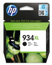 Cartridge HP C2P23AE, 934 XL, čierna