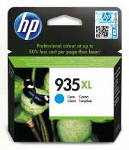 Cartridge HP C2P24AE, 935XL, azúrová