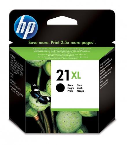 Cartridge HP C9351CE, 21XL, čierna