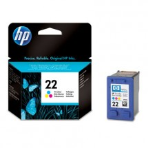 Cartridge HP C9352A, 22, tri-color