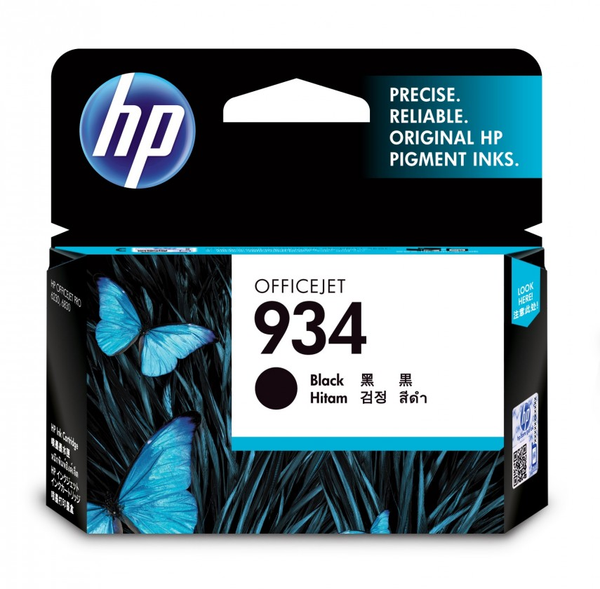 Cartridge HP Cartridge HP C2P19AE, 934, čierna