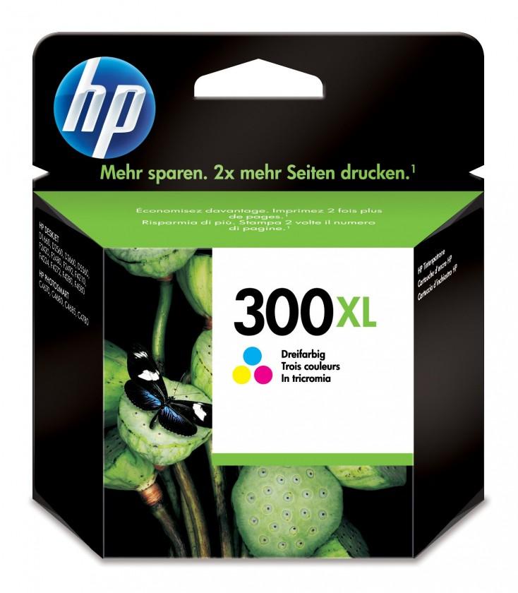 Cartridge HP Cartridge HP CC644EE, 300XL, Tri-color